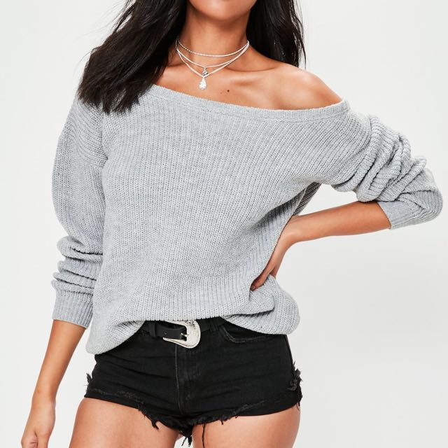 Missguided Grey Knit S/M