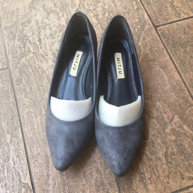 MITJU purple heels