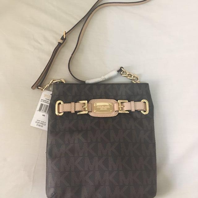 MK LG Crossbody (Leather)