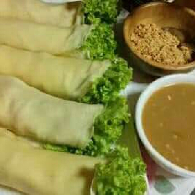 my home made lumpiang sariwa