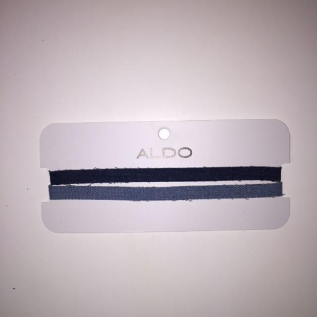 Never been used Denim Aldo Chokers