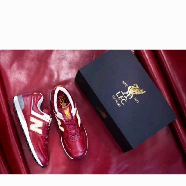 san francisco bb91b 4129e Liverpool FC New Balance Limited Edition 576 Shoe. Made in ...