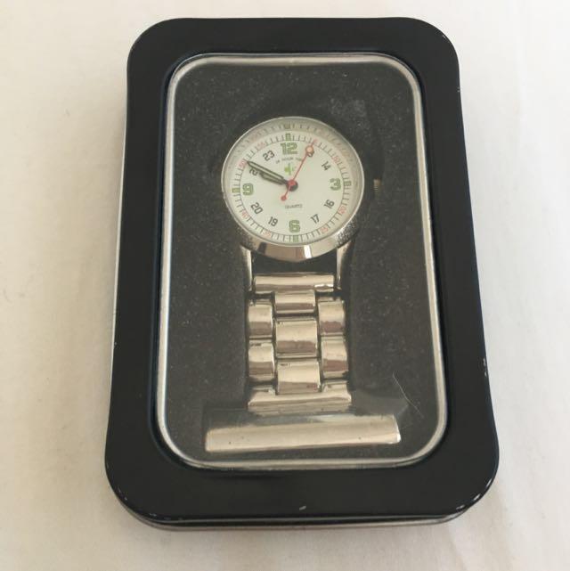 New Classic Nurses Watch (Silver)