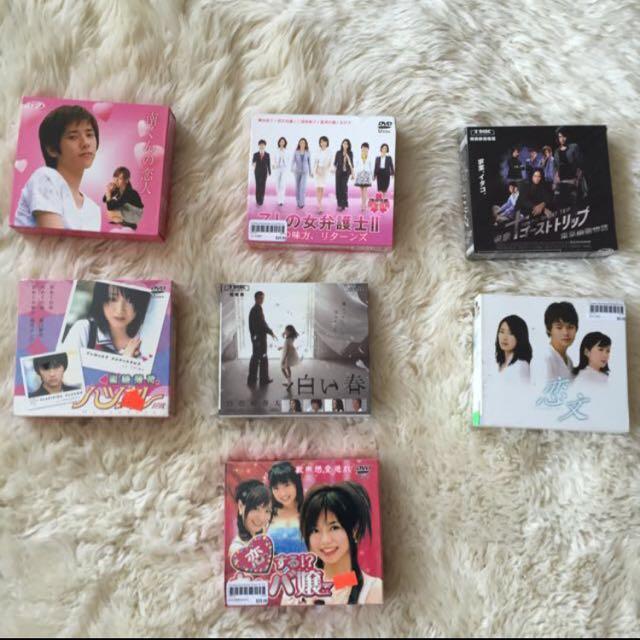 New Japanese dramas/movies