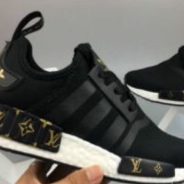 93e7e1e177f New Louis Vuitton Edition Adidas Sneakers!!, Men's Fashion, Footwear ...