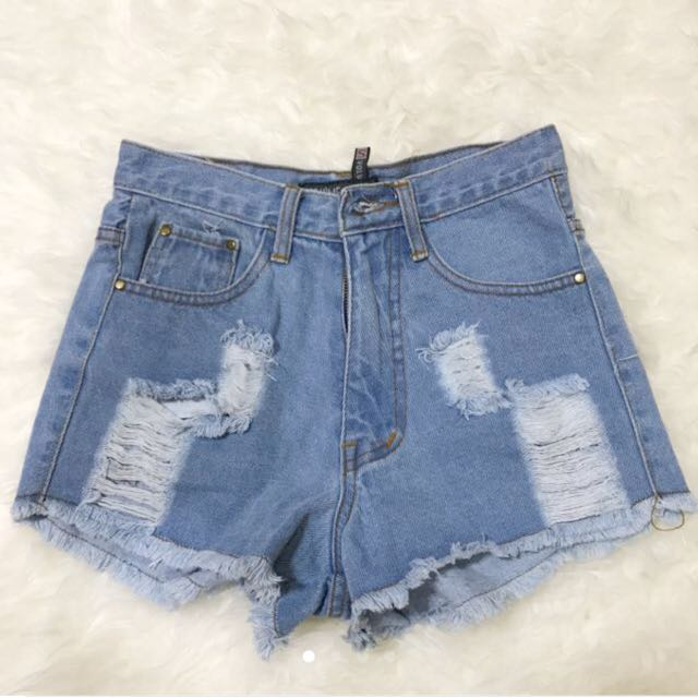 New Ripped Short Pants