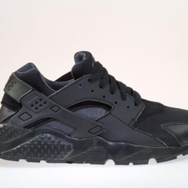 Nike Air Huarache 女子武士跑鞋 (黑) 654275-020  sz4、4.5、5、5.5、6、7 出清