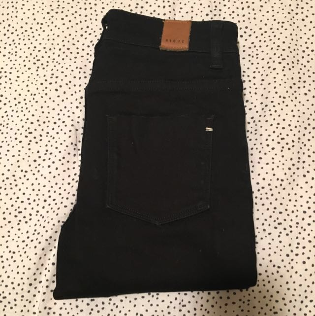 NIQUE $179 Melbourne Boutique Brand - Skinny Mid / High Rise Jeans - Nobody One Teaspoon Acne