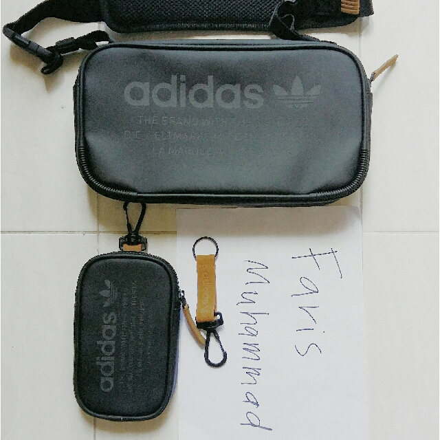 c8cbb754d4 Adidas Nmd crossbody bag pouch key chain