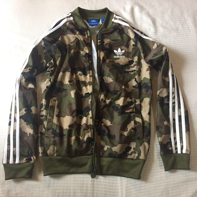 (Not my item, can't be swapped) AUTHENTIC ADIDAS CAMO JACKET (free shipping if you don't negotiate price)