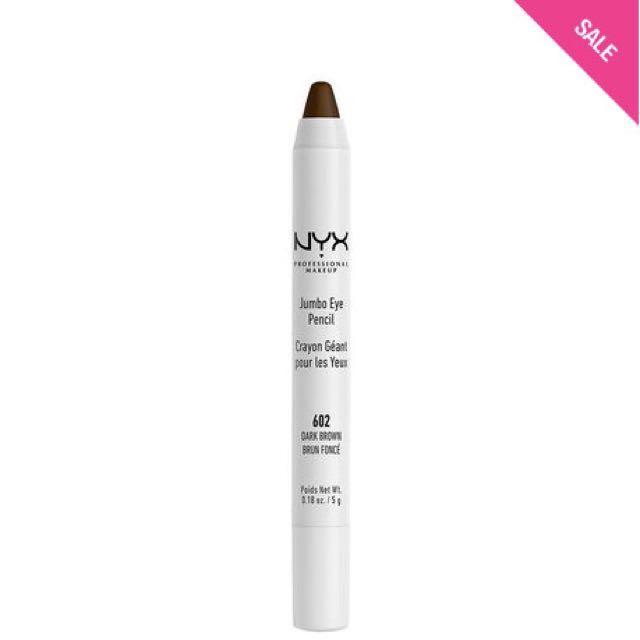 NYX Jumbo Eye Pencil Eyeshadow #DarkBrown