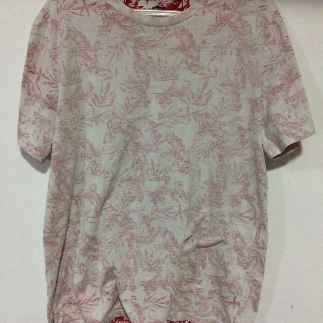 Old navy floral shirt