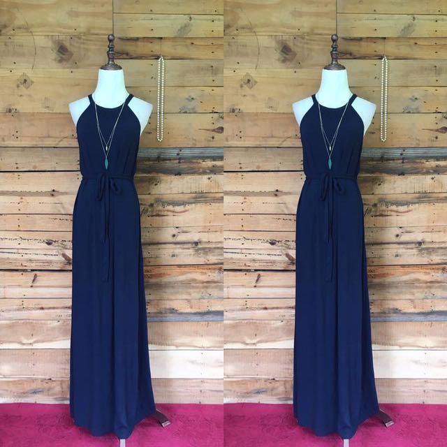 Old navy long dress small-medium