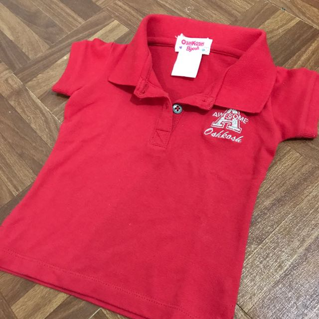 OshKosh baby girl polo shirt