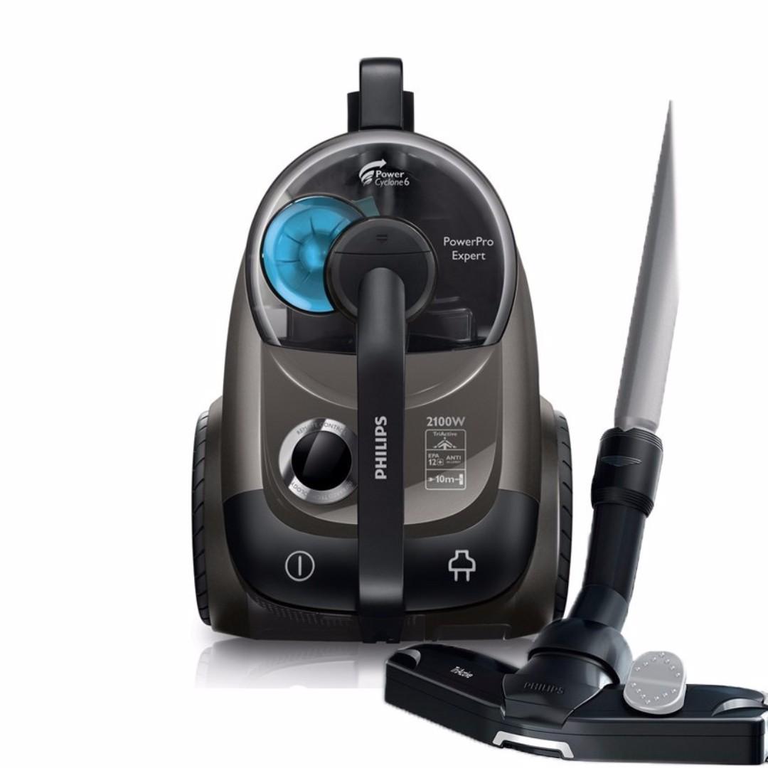 Philips FC9714 2100W PowerPro Expert Bagless Vacuum Cleaner PowerCyclone 6