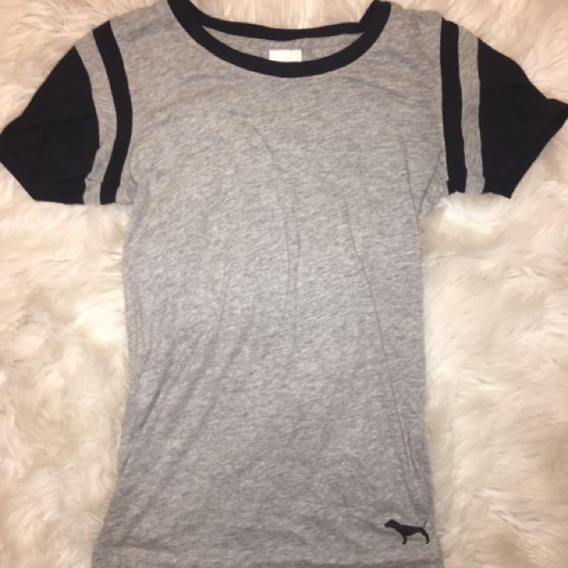 PINK Grey T-shirt