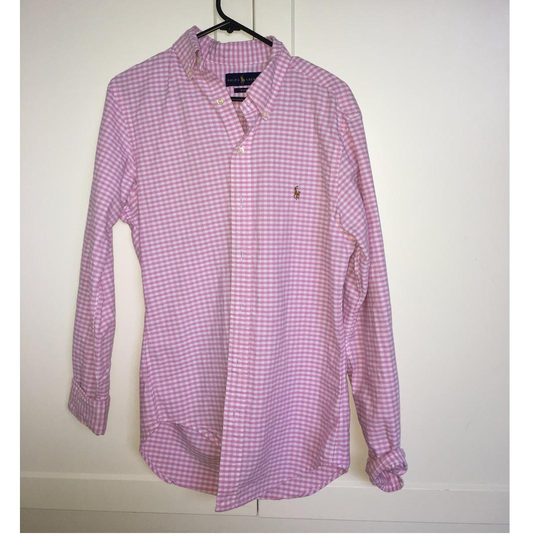 Pink Ralph Lauren Shirt