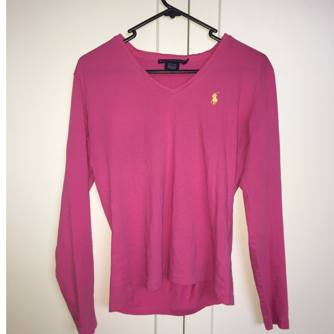 Pink Ralph Lauren Top