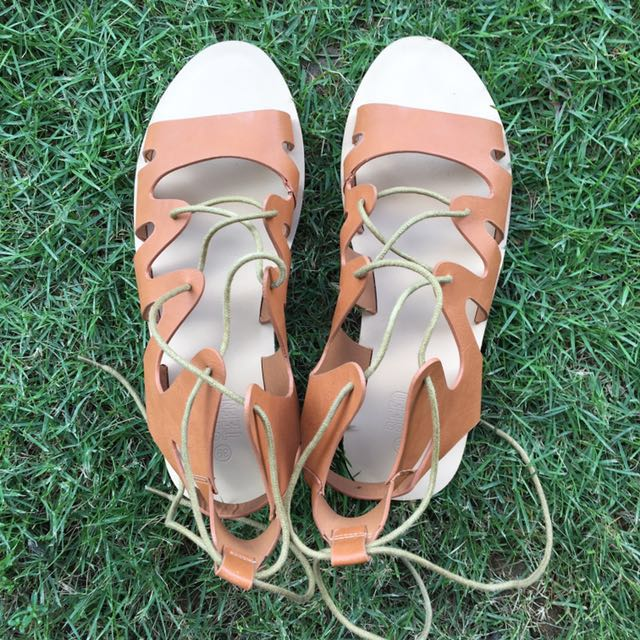PL Seed Heritage (Teen) Lace Up / Gladiator Sandals
