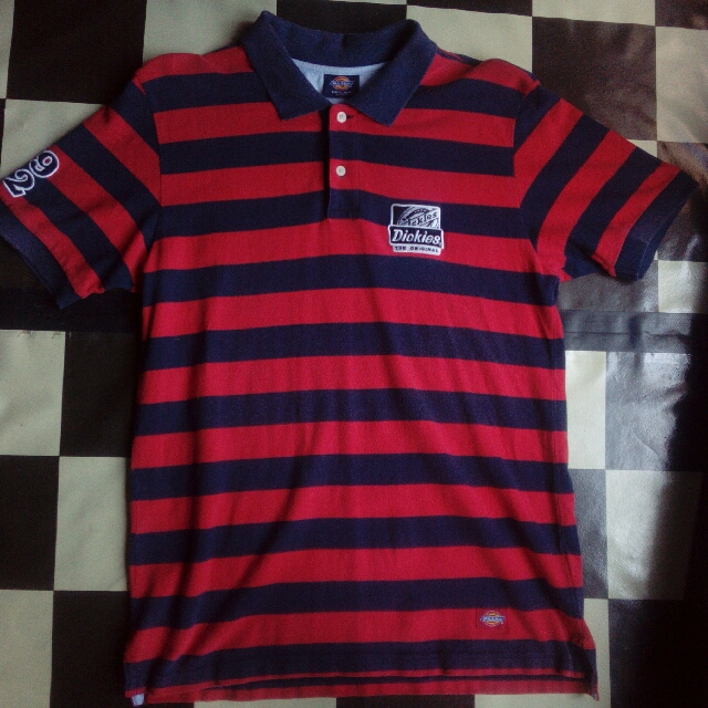 Polo Shirt Stripes Dickies