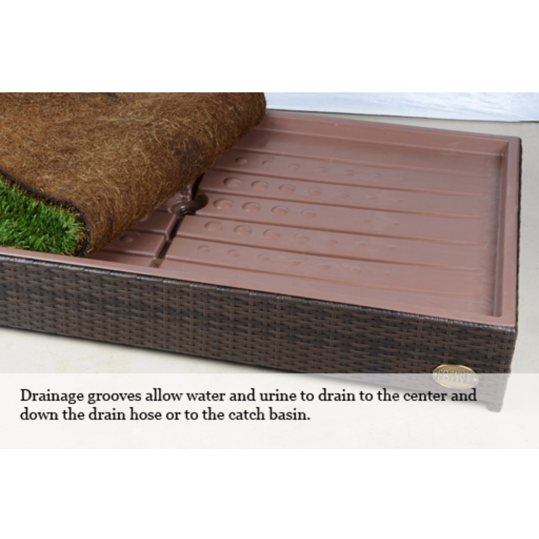 with product real imgur album gallery dog potty and on system finished drainage rwshvgx porch grass