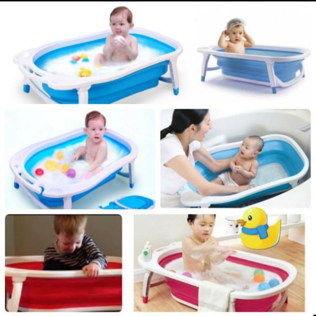 portable foldable bathtub for baby and pets bathtub Collapsible ...