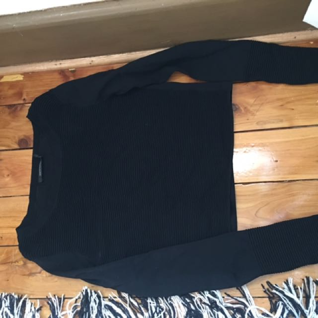 Portmans crop jumper small