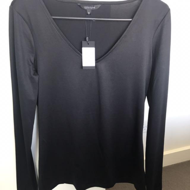 Portmans NEW size S black top