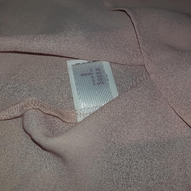 powder pink sheer off the shoulder blouse SheIn
