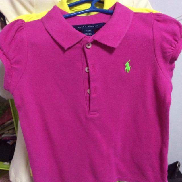 Preloved Ralph Lauren Polo shirt 24m