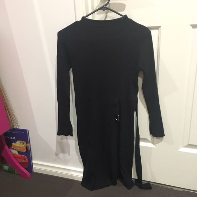 Preowned knit dress all size