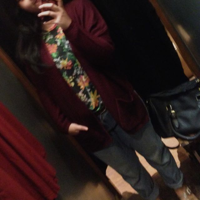 Pull And Bear Knit Cardigan