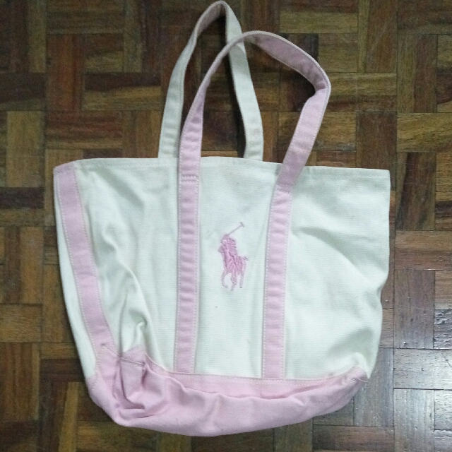 Ralph Lauren Tote Bag Canvas, Women s Fashion, Bags   Wallets on ... 4366afb5bc