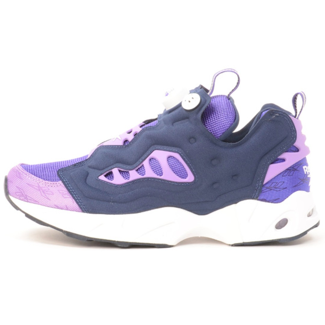 4c26418692ffe3 REEBOK shoes casual INSTAPUMP FURY ROAD Team purple   Smoky Violet    College Navy   White   White size 23.5cm 24cm 25cm 27cm SHIP FROM JAPAN