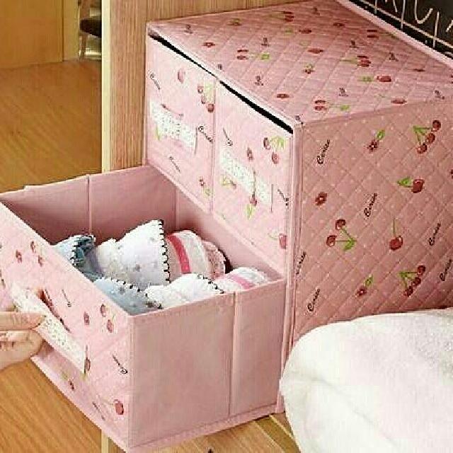 ribbon korean box organizer