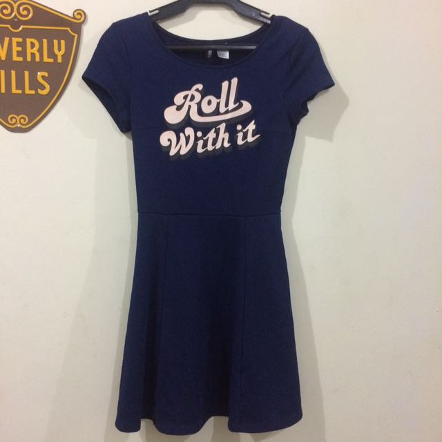 Roll With It Skater Dress
