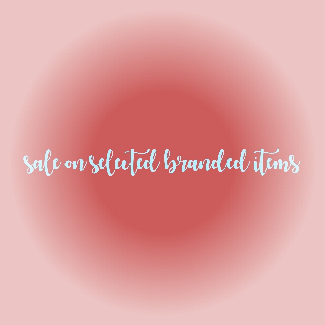 #sale on selected branded item