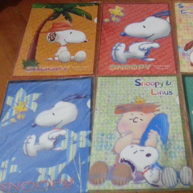 Snoopy A4文件夾 @10元