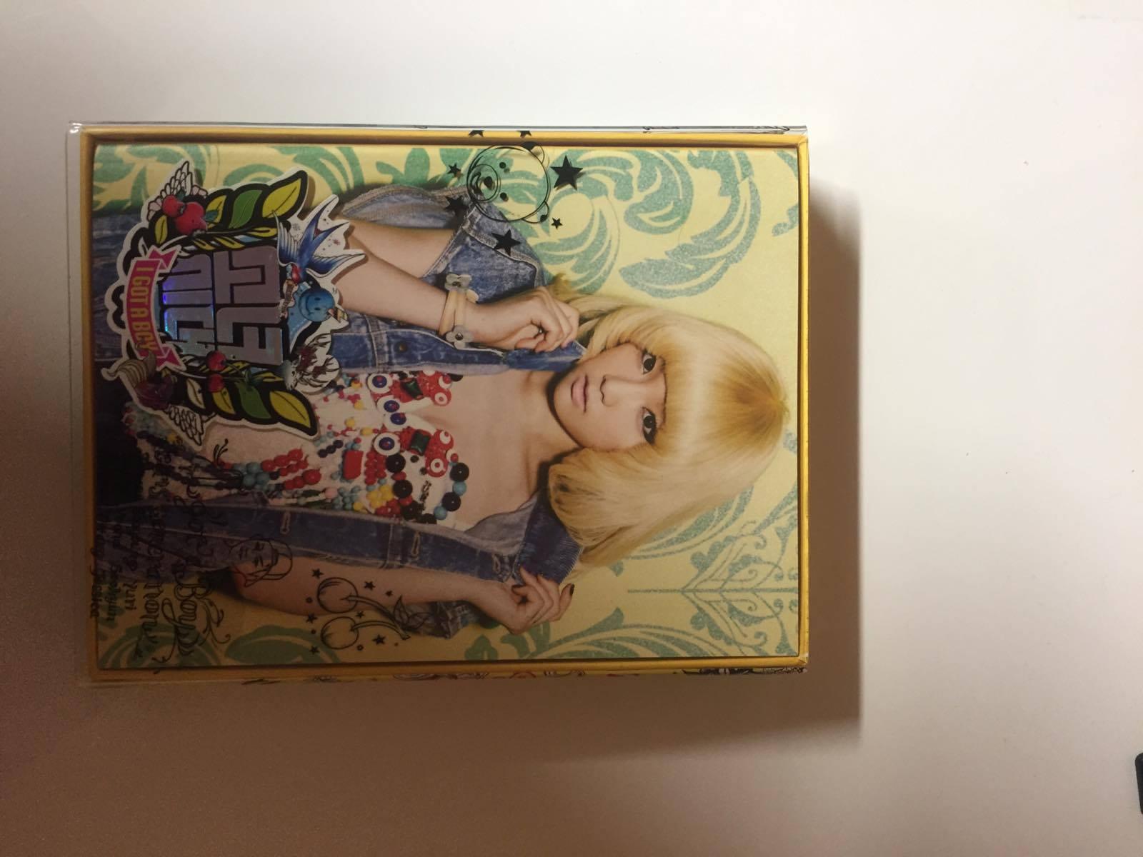 SNSD - I Got a Boy Album (Taeyeon Vers.)