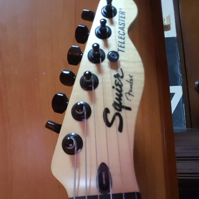 Squier Fender Telecaster Jim Root Signature Music Media Music