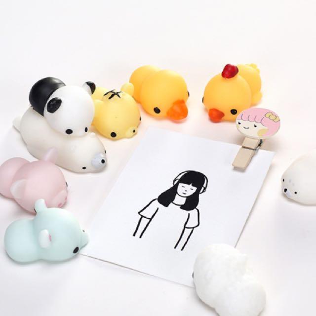Squishy Binatang / Boneka Anti Stress Motif Lucu Murah