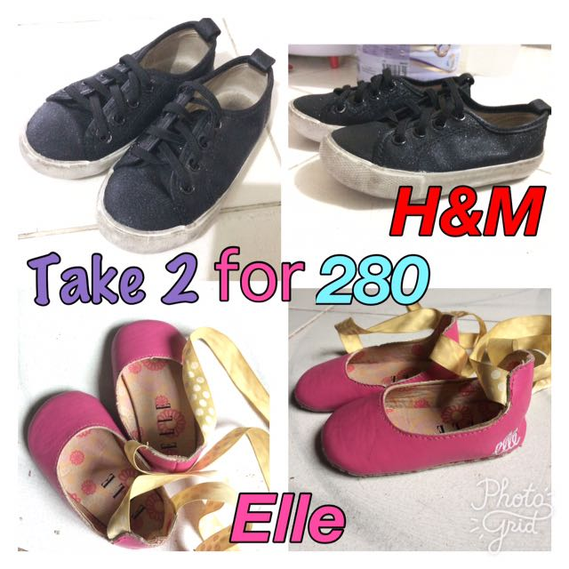 Take 2!! Elle Laced Shoes & H&M Sneakers