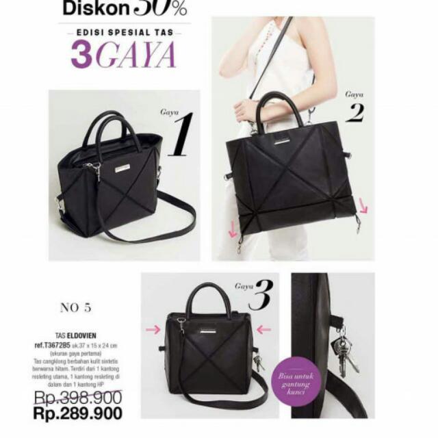 Tas dengan 3 gaya