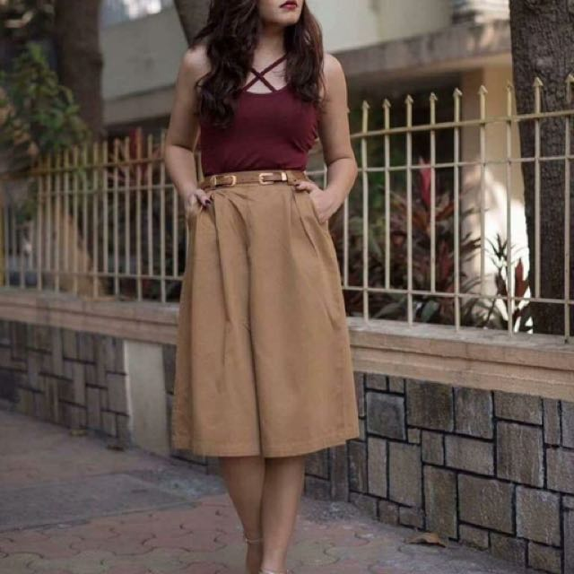 Terno top and cullote skirt 💕