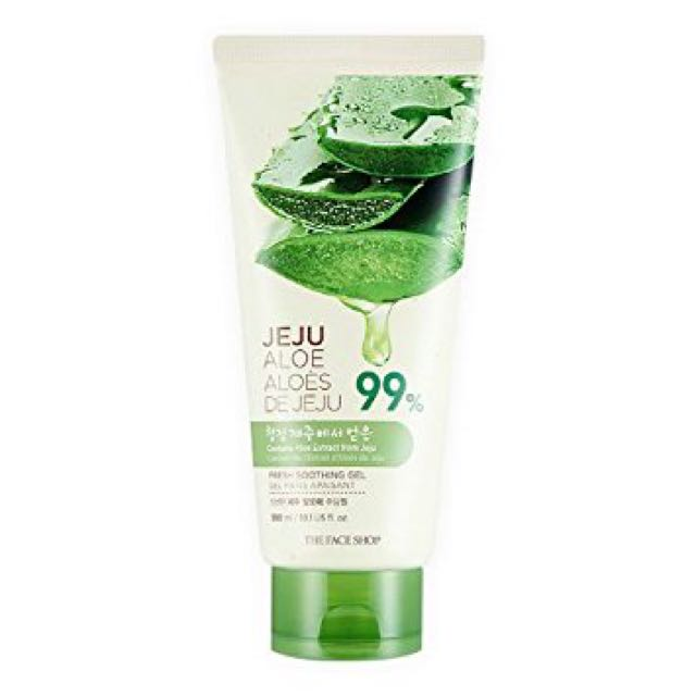 The Face Shop Jeju Aloe Soothing Gel Tube
