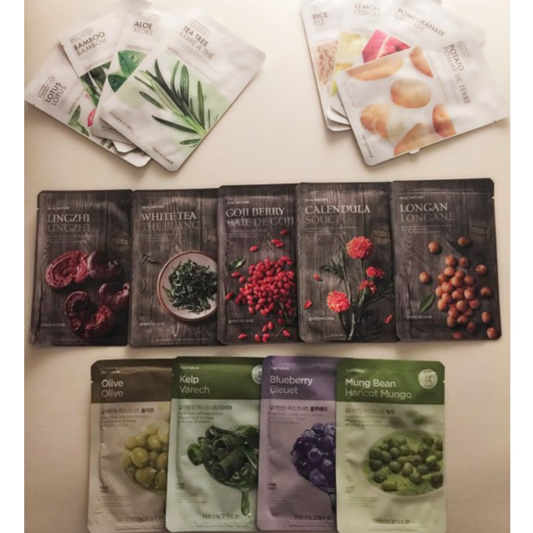 Thefaceshop - Real Nature Face Mask