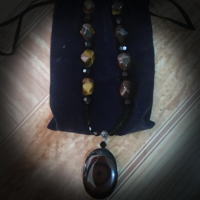 New Year Sale!! Tiger's Eye and Black Onyx