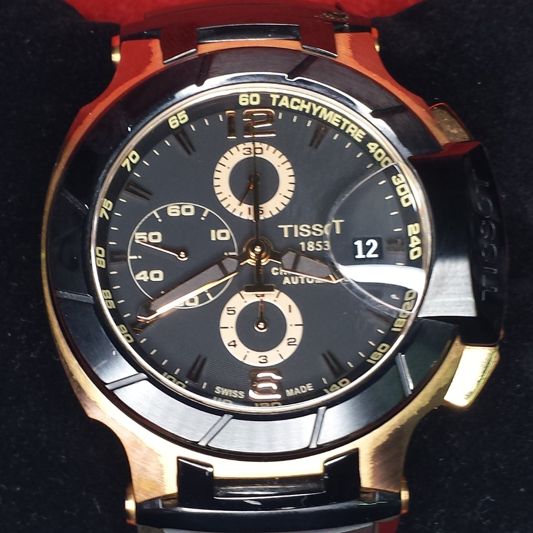 36e8ac723 TISSOT Men Automatic watch Model: T048427A, Men's Fashion, Watches on  Carousell