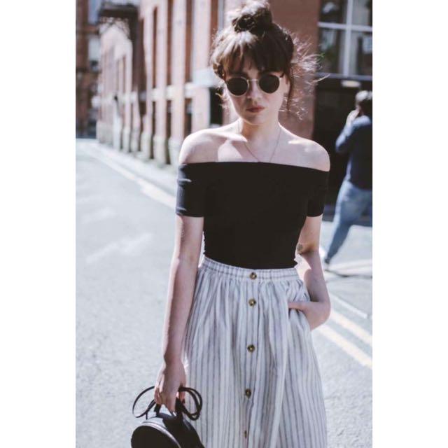 Top and skirt terno 💕