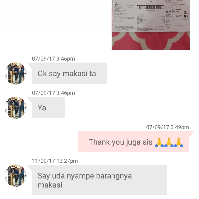 Trusted - Thank you for shopping 🙏🙏🙏